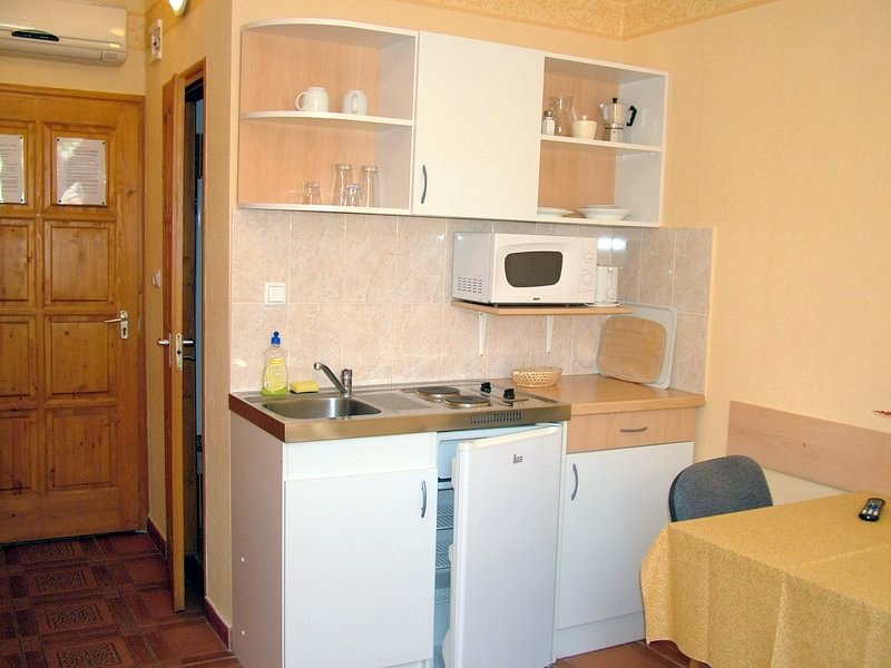 Gyula Apartment 13 - the miniskitchen